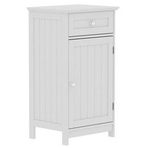 Lassic Rebecca Jones Matt White Single door Drawer cabinet (W)430mm