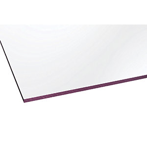 Marlon Fsx 3mm Solid Polycarbonate Clear Sheet 2500 x 1000mm