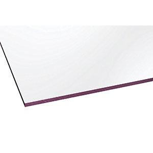 Marlon Fsx 4mm Solid Polycarbonate Clear Sheet 2500 x 500mm
