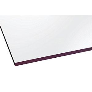 Marlon Fsx 6mm Solid Polycarbonate Clear Sheet 3000 x 500mm