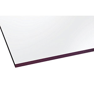Marlon Fsx 8mm Solid Polycarbonate Clear Sheet 1000 x 1000mm