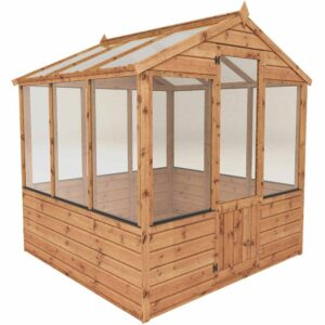 Mercia Garden Products Mercia 6 x 6ft Traditional Greenhouse Wood