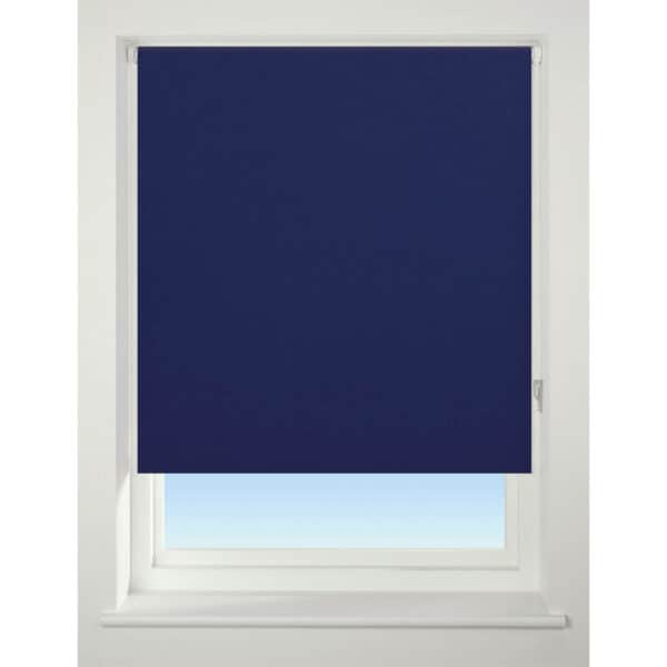 Navy Blue B Out Blind - 60cm