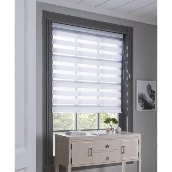 Night & Day Roller Blind - White - 110x160cm