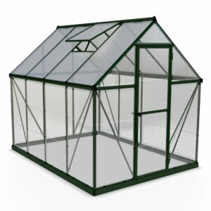 Palram Hybrid Green 6 x 8ft Greenhouse Polycarbonate