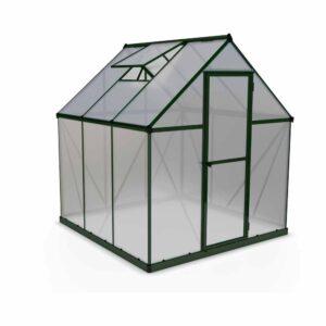 Palram Mythos Green 6 x 6ft Greenhouse Polycarbonate