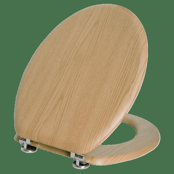 Portway Oak Toilet Seat