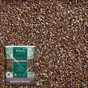 RHS Horticultural Washed Gravel Handy Pack