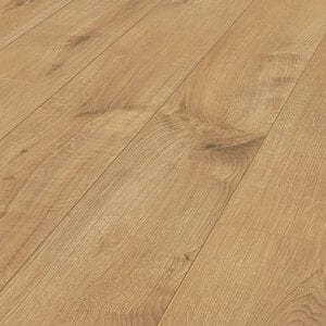 Ravensdale Natural Oak effect Laminate flooring 1.48m² Pack