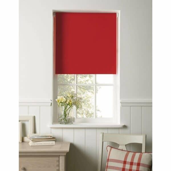 Red Blackout Blind - 120cm