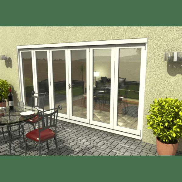 Rohden Slide & Fold Door Set 4200mm - White