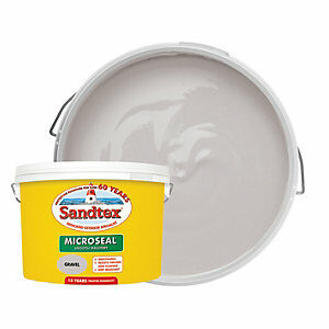 Sandtex Ultra Smooth Masonry Paint - Gravel 10L