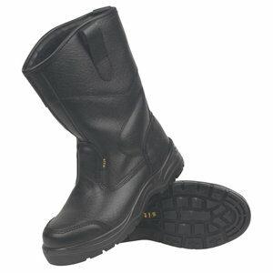 Site Gravel Black Rigger boots Size 8