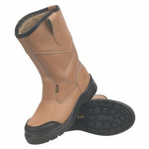 Site Gravel Tan Rigger boots Size 12