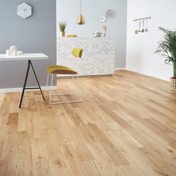 Solid Wood Rural Oak Flooring