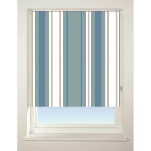 Stripe Roller Blind - 60cm - Blue