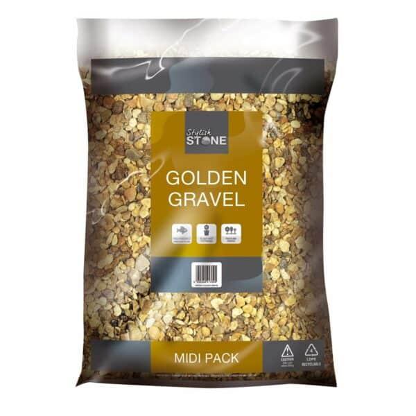 Stylish Stone Golden Gravel - Midi Pack
