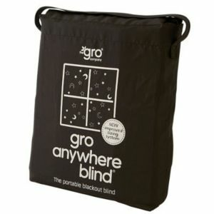 The Gro Company Corded Black Attachable Blackout Blind (L)1300mm (W)1980mm