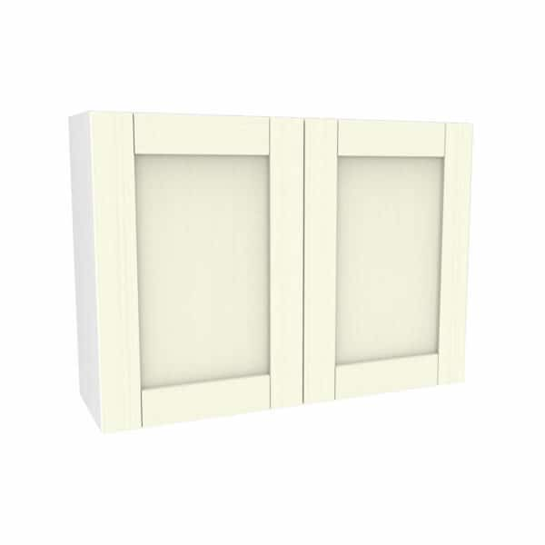 Timber Shaker Ivory 1000mm Wall Unit