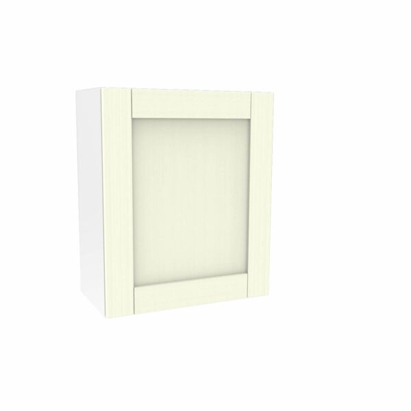 Timber Shaker Ivory 600mm Wall Unit