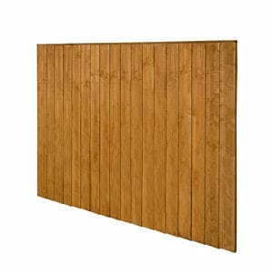 Traditional Feather edge Fence panel (W)1.83m (H)1.54m Pack of 4