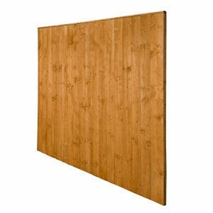 Traditional Feather edge Fence panel (W)1.83m (H)1.85m Pack of 3