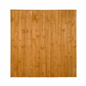 Traditional Feather edge Fence panel (W)1.83m (H)1.85m Pack of 5