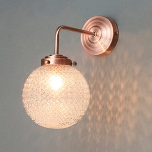 Umbriel Textured Wall light