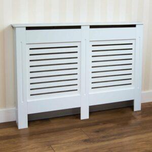 Vida Designs Milton Medium White Radiator Cover MDF