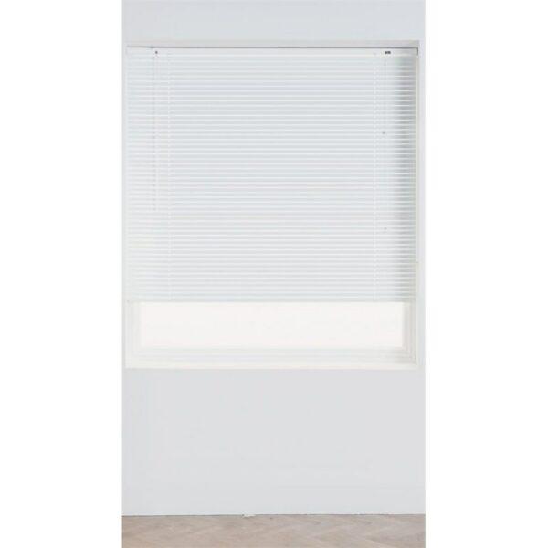 White Aluminium 25mm Venetian Blind - 120cm