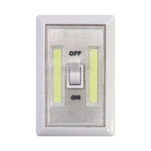 White Battery-powered LED Indoor Wall light