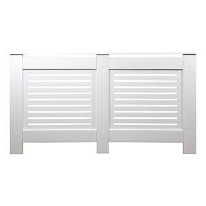 Wickes Bellona Medium Radiator Cover White - 1520 mm