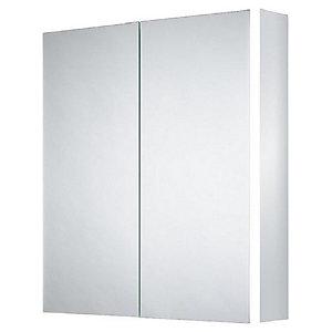 Wickes Grantham Bluetooth LED Double Door Bathroom Cabinet