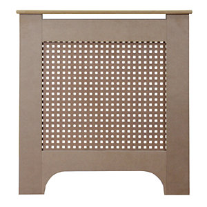 Wickes Halsted Mini Radiator Cover Unfinished - 780 mm