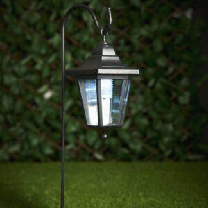 Wilko 2 pack Shepherd Style Garden Solar Lights plastic,metal