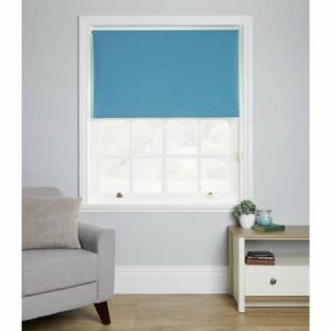 Wilko B/out Blind Teal 120 x 160cm Polyester