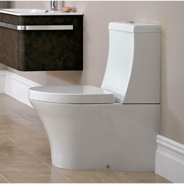 Bathstore Pure Close Coupled Toilet (including seat)