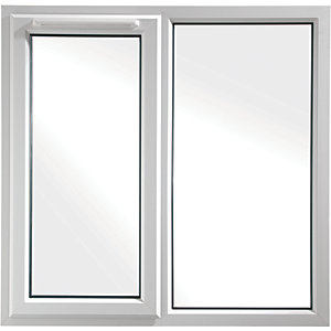Euramax Bespoke uPVC A Rated SF Casement Window - White 1251-1650mm Width