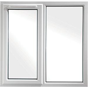 Euramax Bespoke uPVC A Rated SF Casement Window - White 1651-2050mm Width