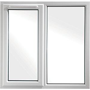Euramax Bespoke uPVC A Rated SF Casement Window - White 800-1250mm Width