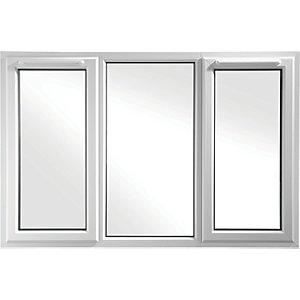 Euramax Bespoke uPVC A Rated SFS Casement Window - White 2351-2550mm Width