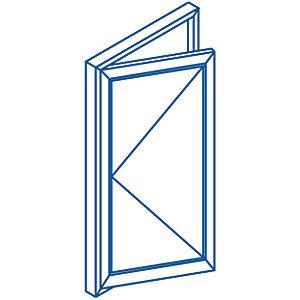 Euramax Bespoke uPVC A Rated SL Casement Window - White 651-850mm Width