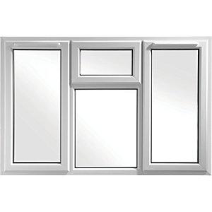 Euramax Bespoke uPVC A Rated STFS Casement Window - White 1751-2050mm Width