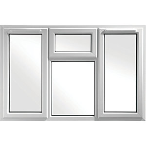 Euramax Bespoke uPVC A Rated STFS Casement Window - White 2051-2350mm Width