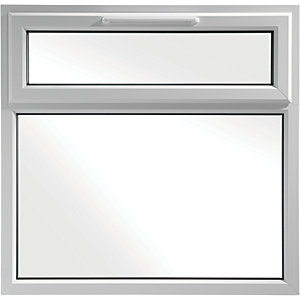 Euramax Bespoke uPVC A Rated TF Casement Window - White 1051-1250mm Width