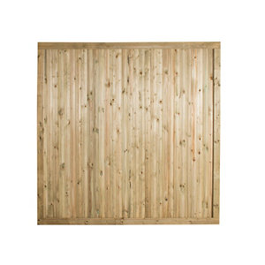 Forest Garden Decibel Noise Reduction Fence panel (W)1.83m (H)1.8m Pack of 4