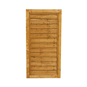 Forest Garden Traditional Overlap Timber Gate - 915 X 1815 Mm