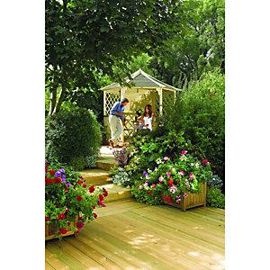 Rowlinson Gainsborough Garden Gazebo - 3000 x 2600 mm