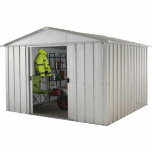10x8ft Yardmaster Apex Roof Metal Shed