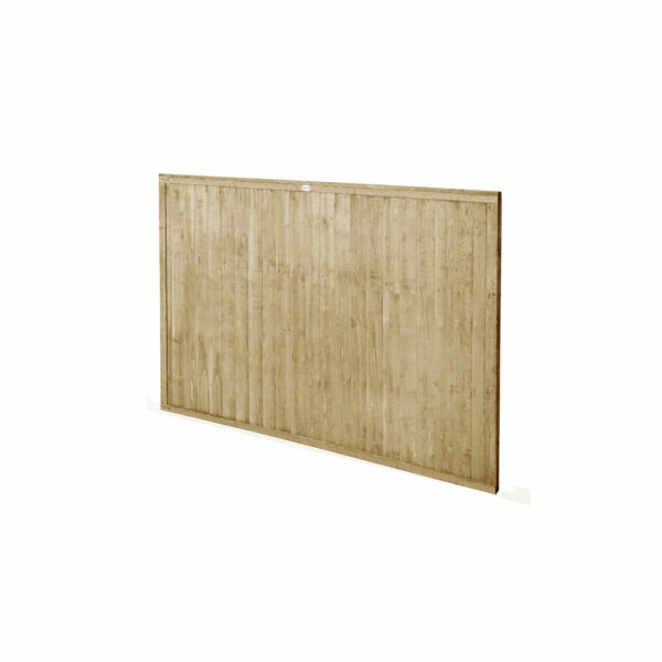 6ft x 4ft (1.83m x 1.22m) Pressure Treated Closeboard Fence Panel - Pack of 5